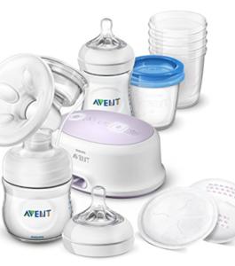PHILLIPS AVENT-Kit tire-lait électrique avec accessoires