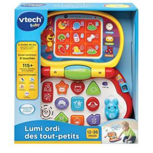 VTech -Lumi ordi des tout-petits