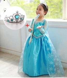 Robe  Fête princesse Elsa