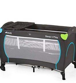 Hauck Sleep N Play Center II, Lit Parapluie 7 Pièces, Lit Bébé Pliant de Naissance à 15 kg