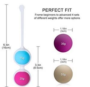 Boules de Geisha Medical Silicone équipement d'entraînement du plancher pelvien  de BEQOOL