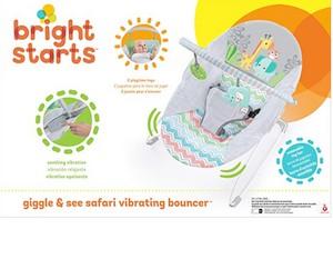 Bright Starts, Transat avec Vibrations Giggle & See Safari™