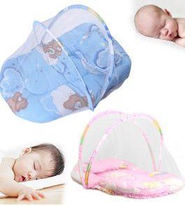 lit d'appoint bébé avec moustiquaire