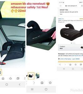 Siège-auto Rehausseur  Safety 1st