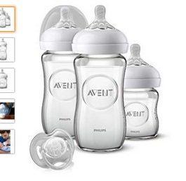 AVENT Kit Biberon nouveau né en verre