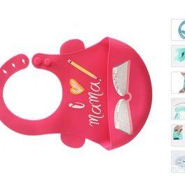 Bavoir bébé en silicone