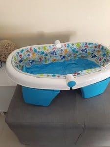 Bassine pour bain pliable -2nde Vie
