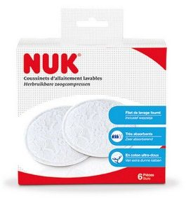 Lot de 6 Coussinets lavables NUK