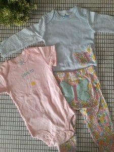Ensemble 3 pieces 2 body 1 pantalon