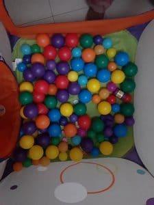 Balles Multicolores en Plastique PM et GM