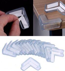 4 Protecteur d'angle en plastique