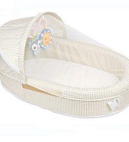 lit portable pliable, transport facile avec musique et jouets à charnière