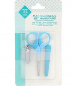 Set manucure rose/bleu marque  TEX